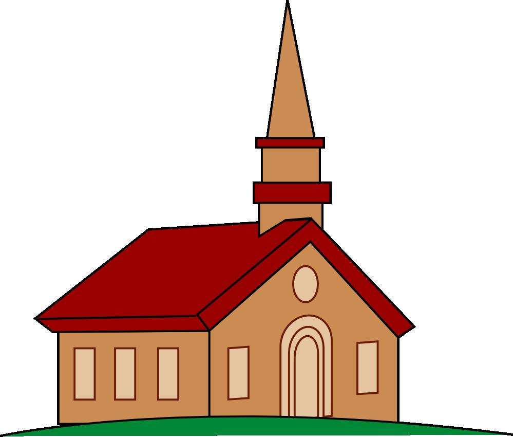 Church Building Clip Art .. Capybara Clipart