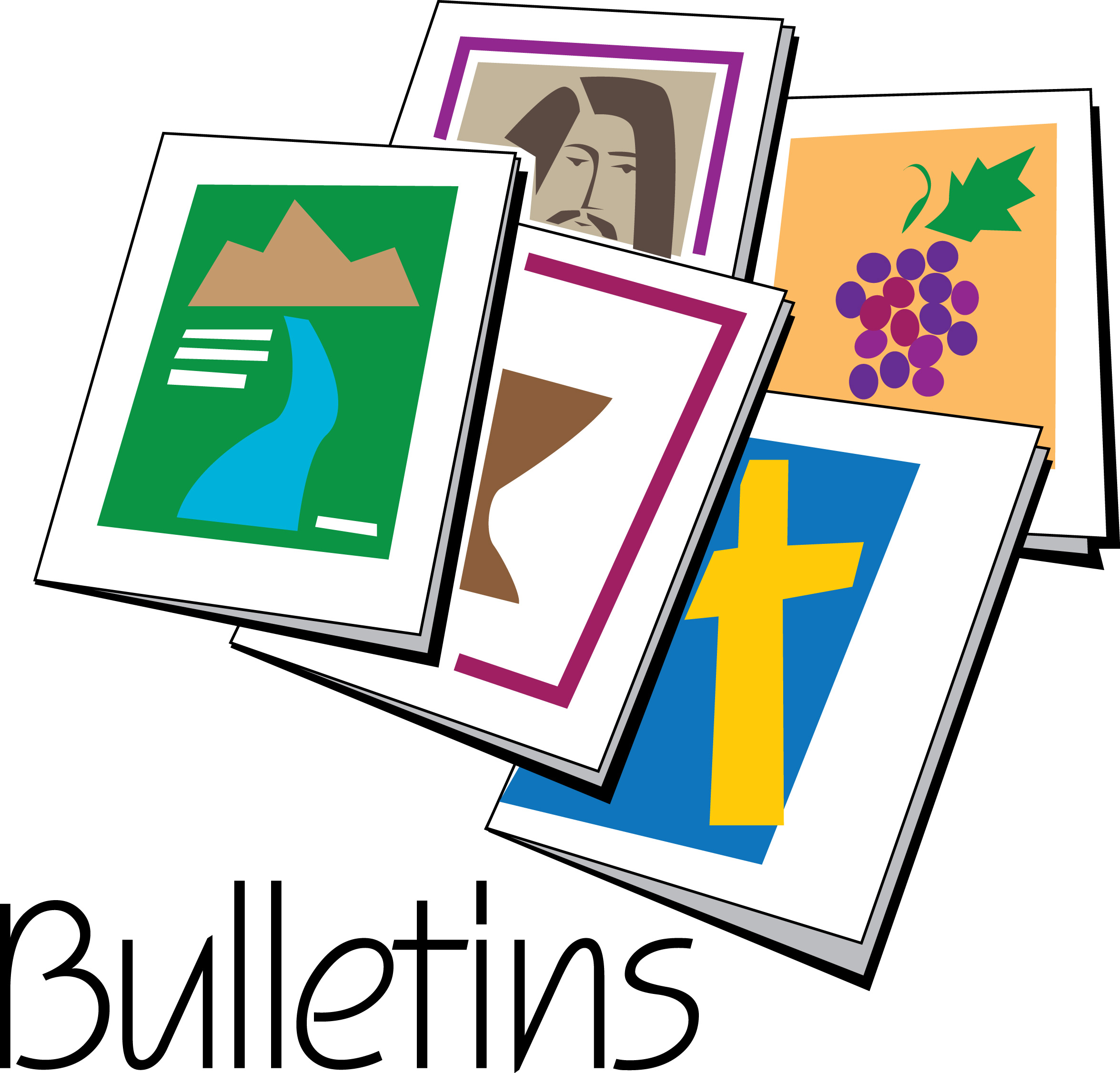 Church Bulletin Clip Art Clipart Best