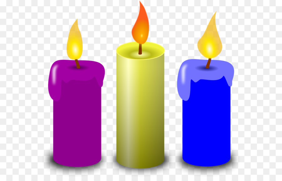 Birthday cake Candle Clip art - Church C-Birthday cake Candle Clip art - Church Candles Png Clipart-1