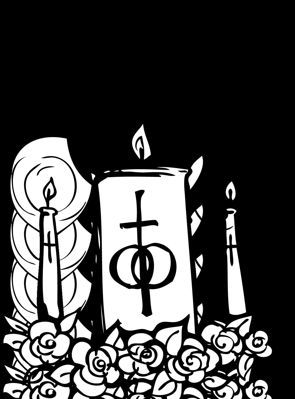 Catholic Church Catholicism Wedding Clip-Catholic Church Catholicism Wedding Clip art - Church Candles-19