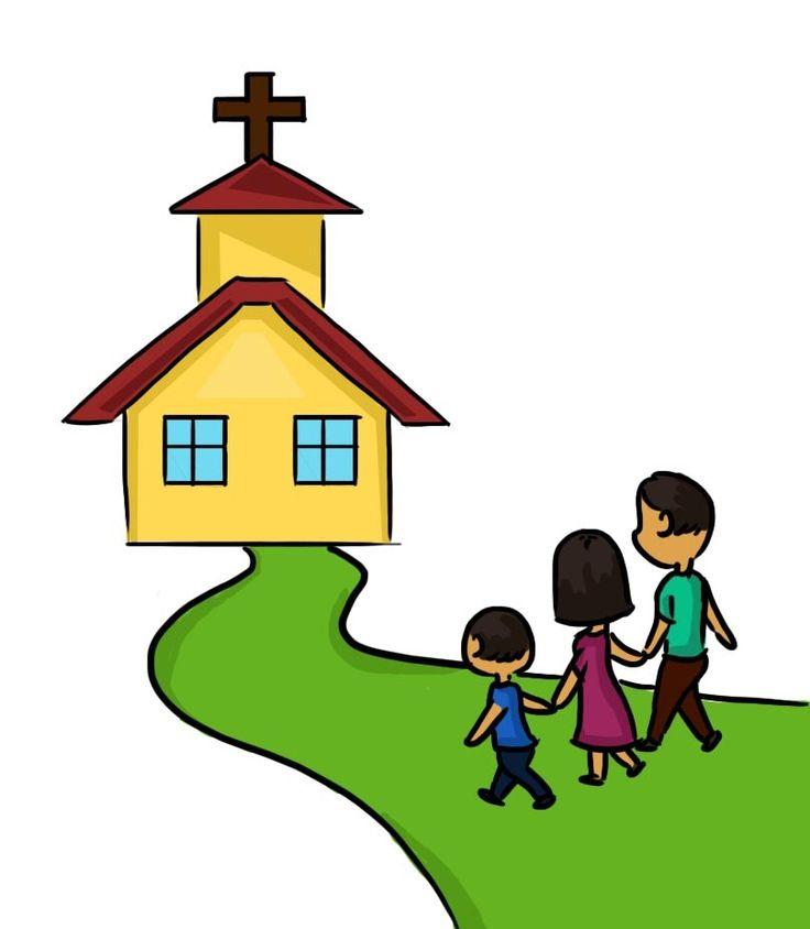 children praying in church clipart 2