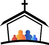 Church logo; Church family faith logo