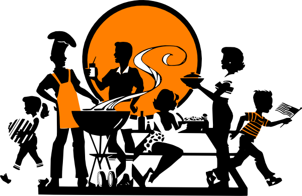 Church cookout clipart clipartall
