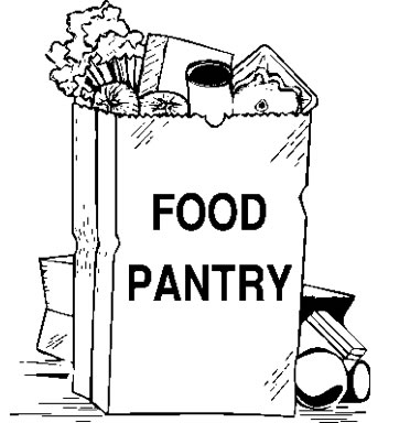 Church Food Pantry Clipart .