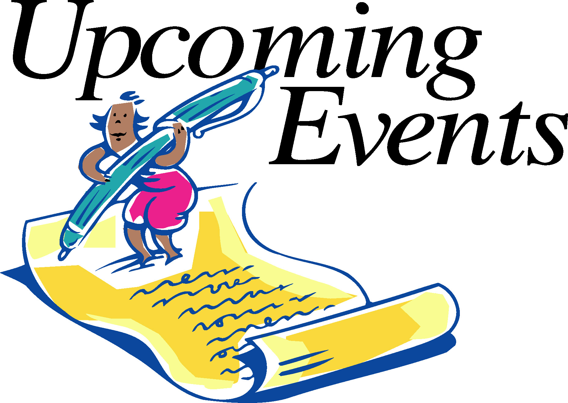 Upcoming Events Clipart. Your