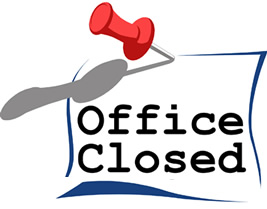 Church Office Closed Clipart # .