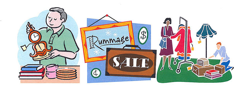 Church Rummage Sale Clipart #1