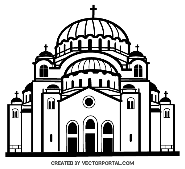 Church Clipart Black And White Look At Clip Art Images Clipartlook