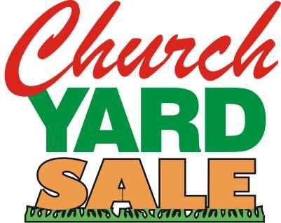 Clip Art Yard Sale