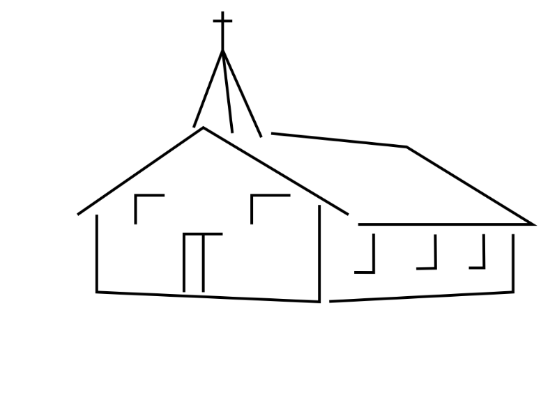 Church Clipart Black And White Look At Clip