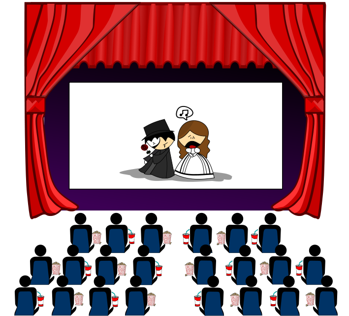 Cinema Theater Clipart Free .-Cinema Theater Clipart Free .-1