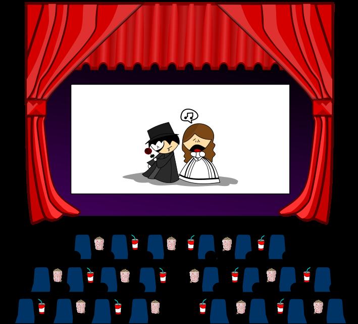 Cinema Theater Clipart Free .