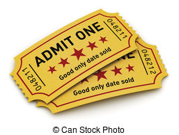 ... Cinema tickets - Cinema industry entertainment, film.