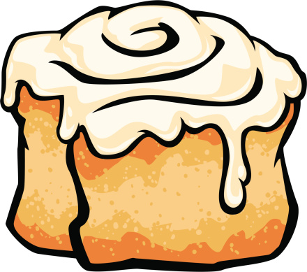 Cinnamon Roll With Frosting .-cinnamon roll with frosting .-10