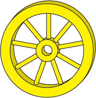 Circle Wheel Clipart