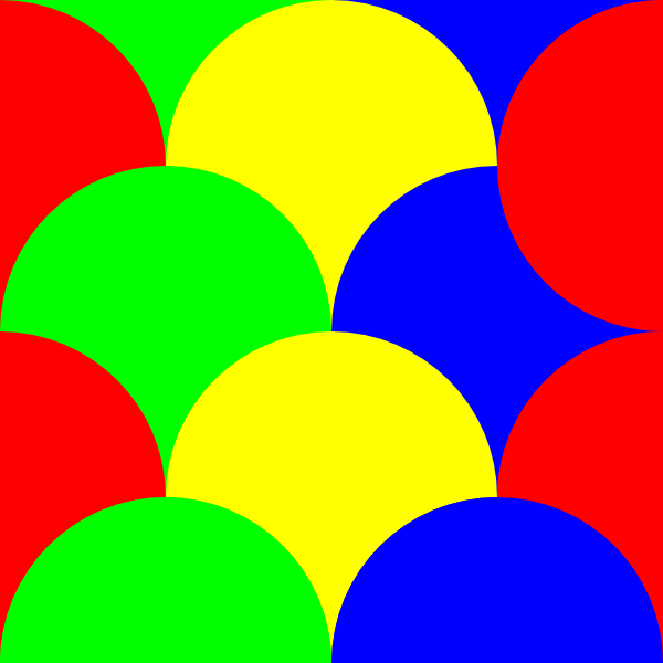 Circles 4 Pattern. » - Clip Art Patterns