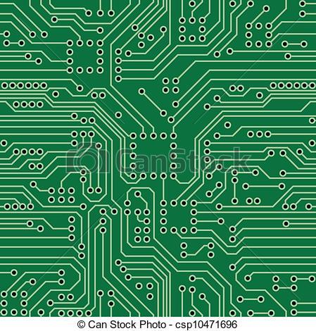 ... Circuit Board - Green computer circuit board. Seamless.