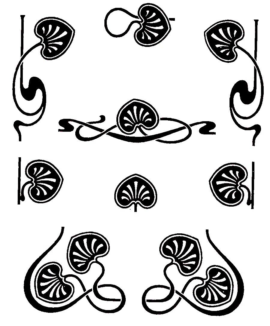 Circulation: Art Nouveau .-Circulation: Art Nouveau .-10