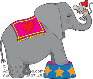 circus animal clipart