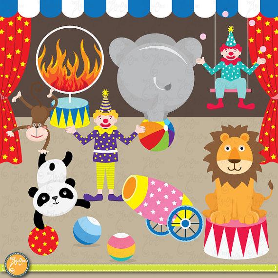 Circus clip art ,CIRCUS .