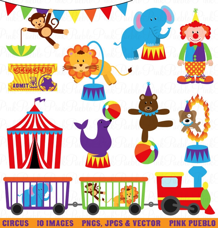 Circus Clip Art Clipart Carnival Clip Art Clipart By Pinkpueblo