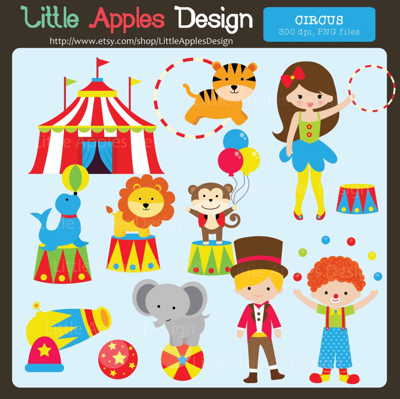 Circus ClipArt / Circus Clip Art / Carni-Circus ClipArt / Circus Clip Art / Carnival Clip Art / Carnival Clipart / Monkey Clip Art / Circus Birthday Clip Art / Clown Clipart-19