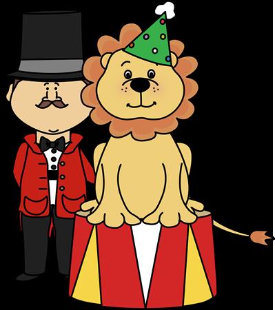 Circus Lion And Ringmaster Clip Art-Circus Lion and Ringmaster Clip Art-1