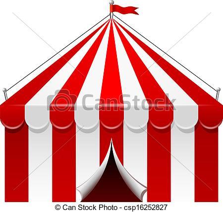 Circus tent Clip Artby ... - Circus Tent Clipart