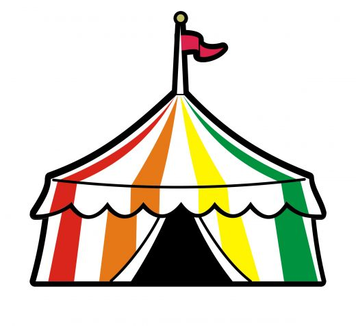 Circus tent clipart free - Cl - Circus Tent Clipart