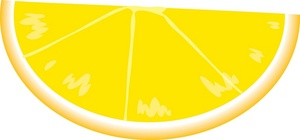 Citrus clipart image lemon wedge