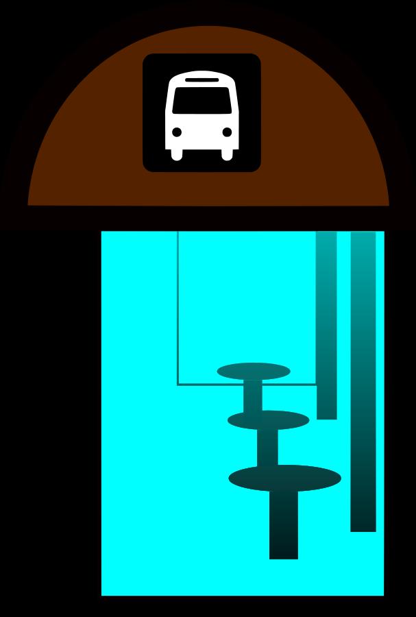 City Bus Stop Clipart Cliparts Co