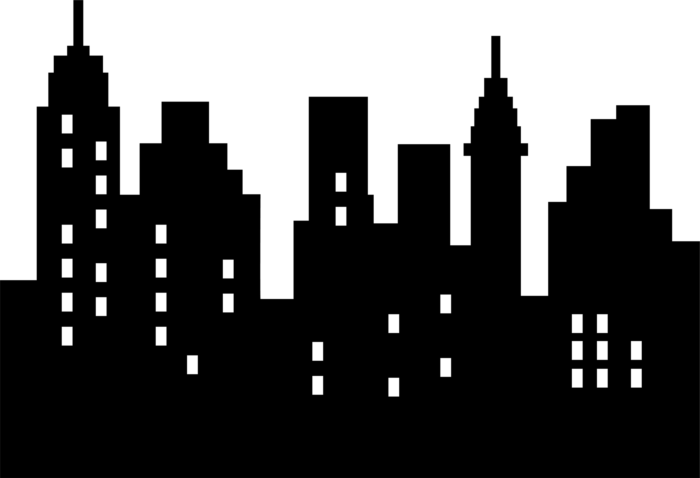City Clipart: Skyline Clipart-City clipart: Skyline Clipart-5