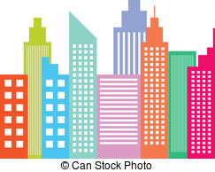 . ClipartLook.com Modern City Skyline Sk-. ClipartLook.com Modern City Skyline Skyscrapers Isolated On White-10
