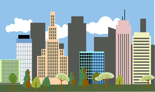 City cliparts. City cliparts. City Clipart