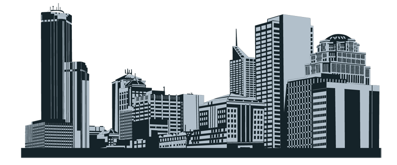 City Skyline Outline
