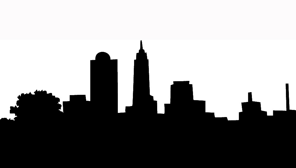 City Skyline Silhouette Clip Art-City Skyline Silhouette Clip Art-7