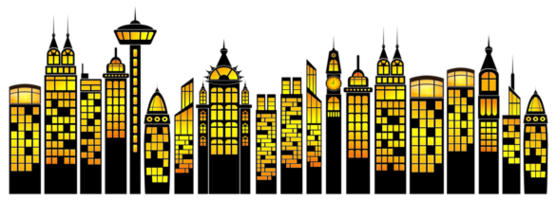 Cityscape clipart black and white; Cityscape Clipart - Free to use Clip Art Resource ...