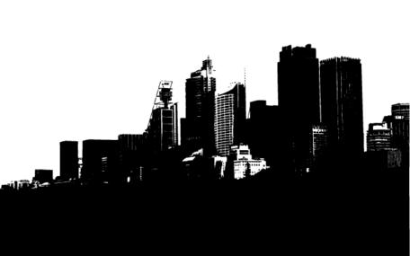 Cityscape; Free Vector Sydney Cityscape in Illustrator