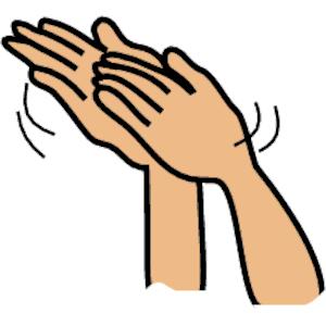 Clapping 2 Clipart Cliparts Of Clapping -Clapping 2 Clipart Cliparts Of Clapping 2 Free Download Wmf Eps-6