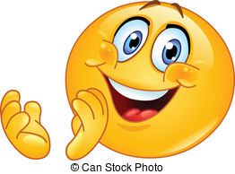 Clapping emoticon - Emoticon  - Clapping Clip Art