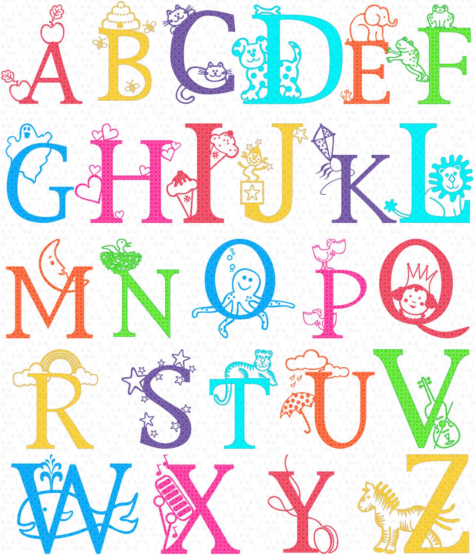 Class Alphabet Clipart Instant Download -Class Alphabet Clipart Instant Download Teaching By Melikedesign-10