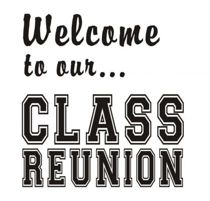 High School Reunion Clip Art