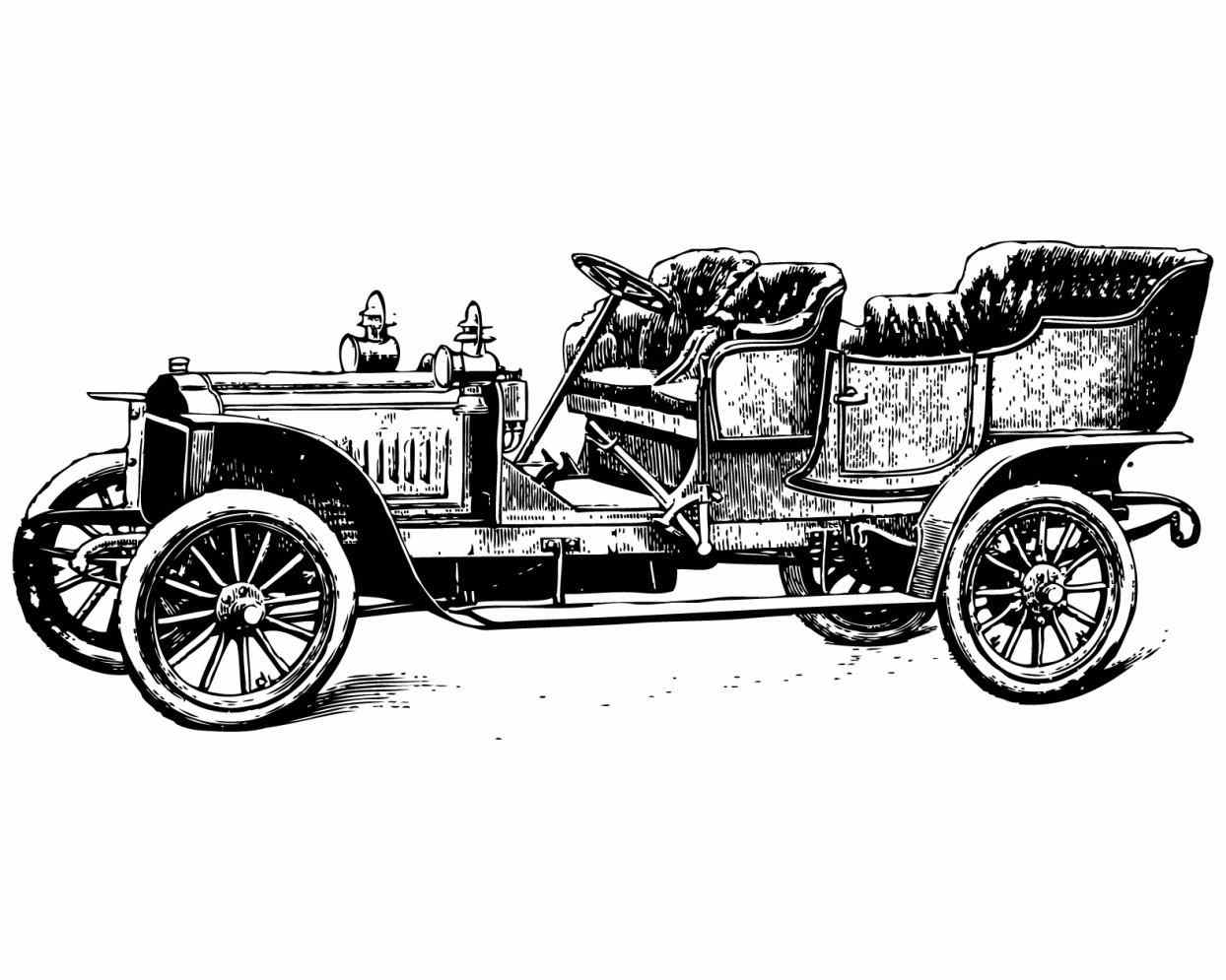 Art Images And Coaches Classic Car Class-Art images and coaches classic car classic vintage cars clipart car pojazdy  on clip art and-0