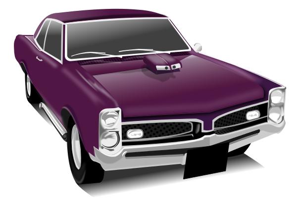 Classic muscle car clipart gram