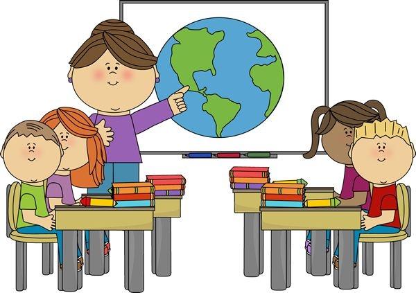 classroom clipart for teacher