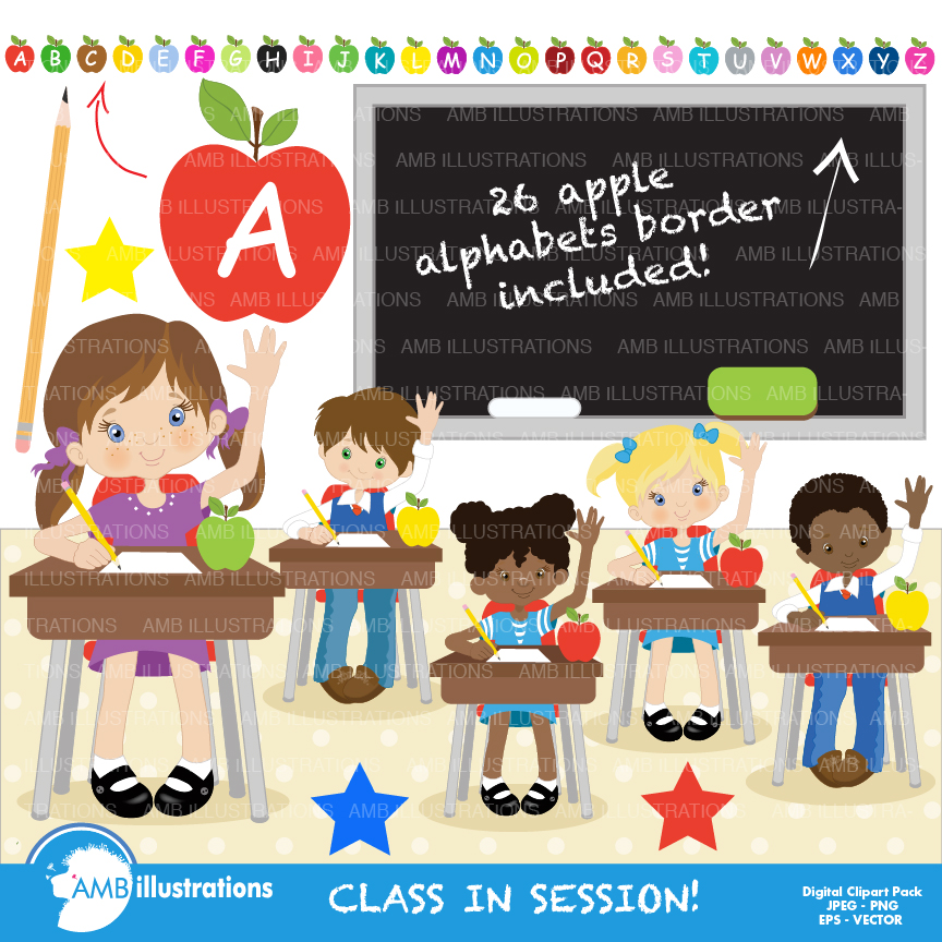 classroom clipart - Classroomclipart