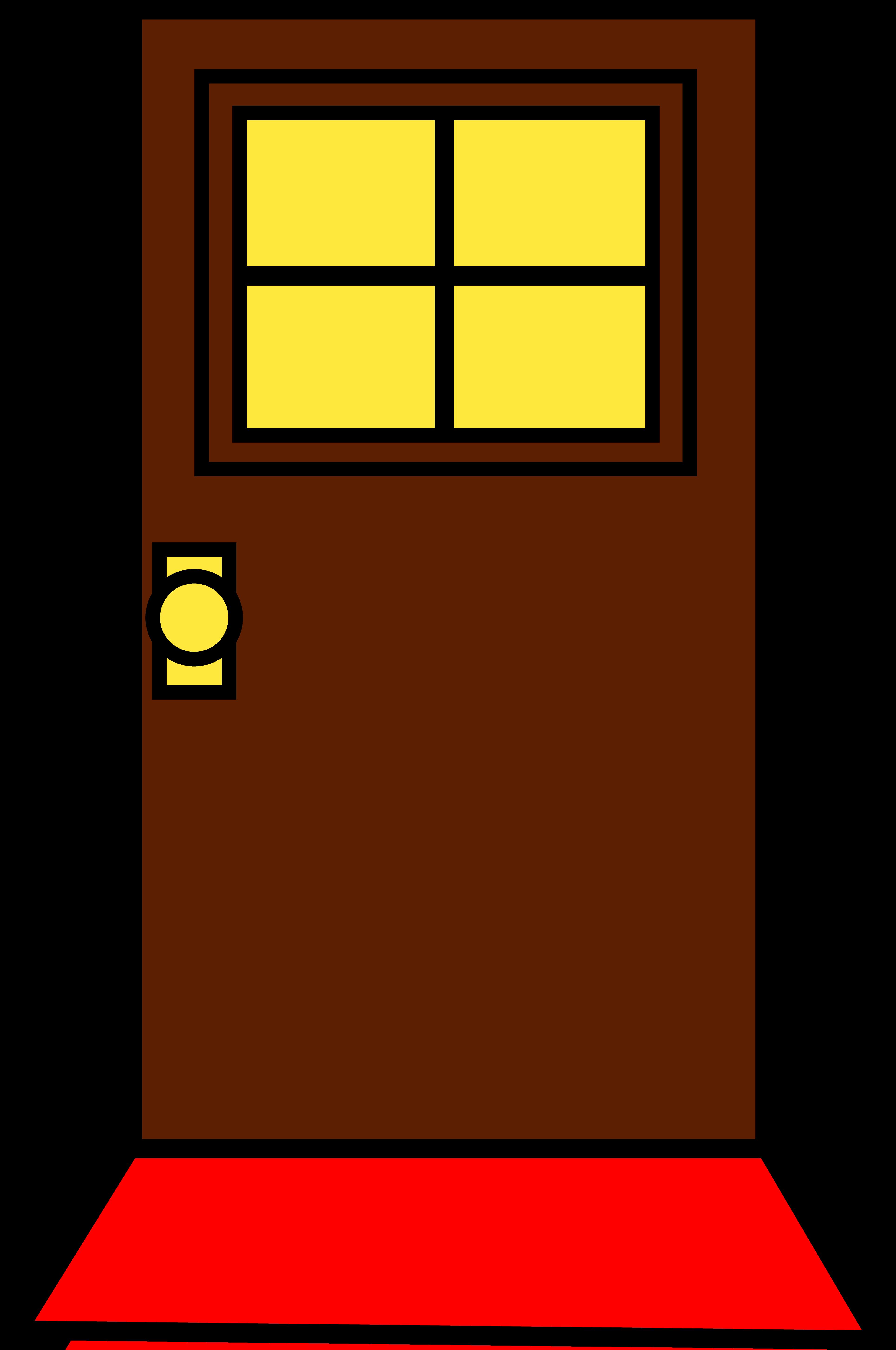 classroom door clipart