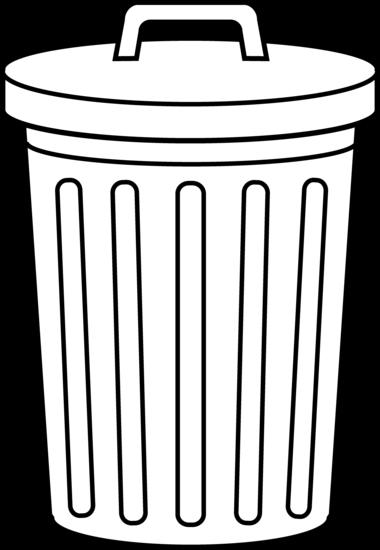 classroom trash can clipart