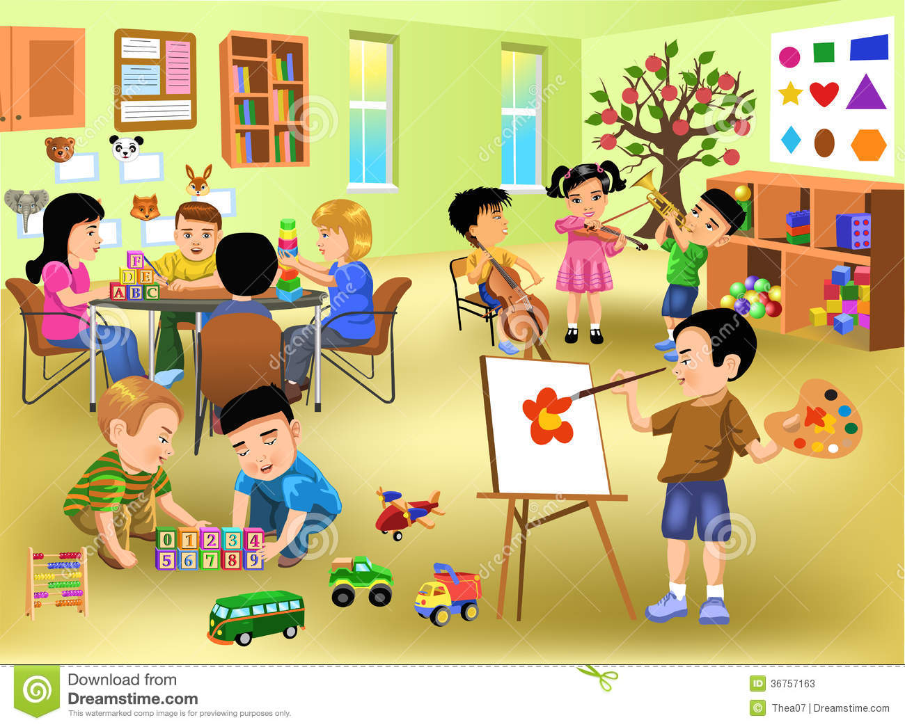 classroom clipart for teacher - Classroomclipart