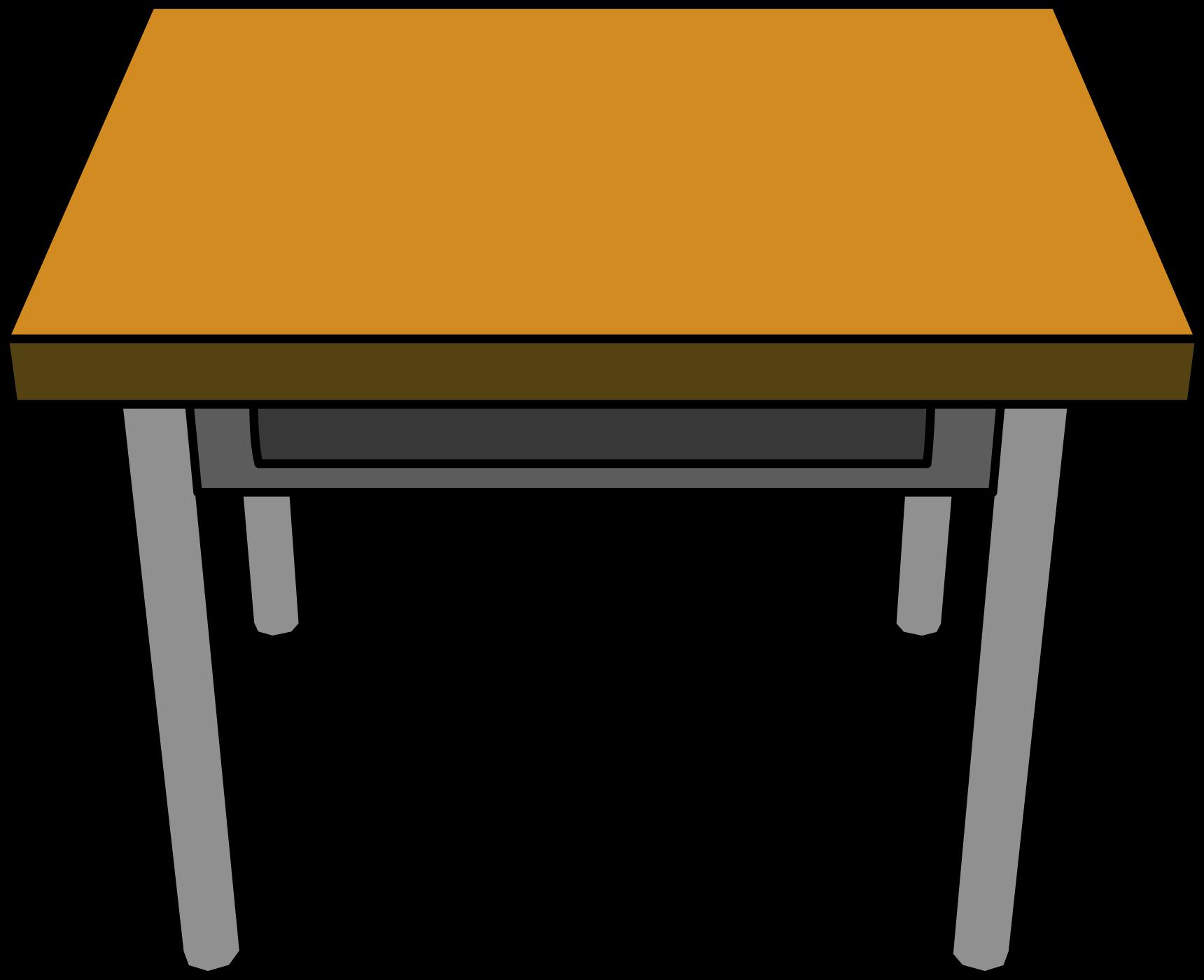 Classroom Desk Clipart - School Desk Clipart